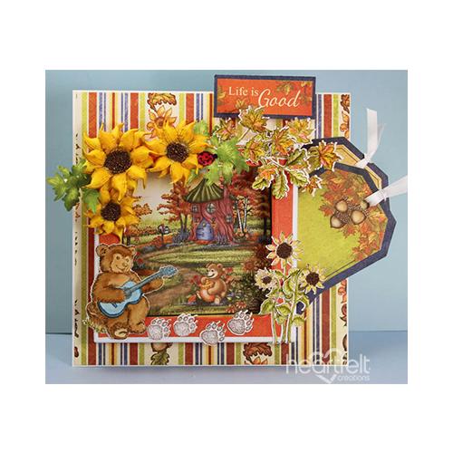 Sunflower Shadow Box
