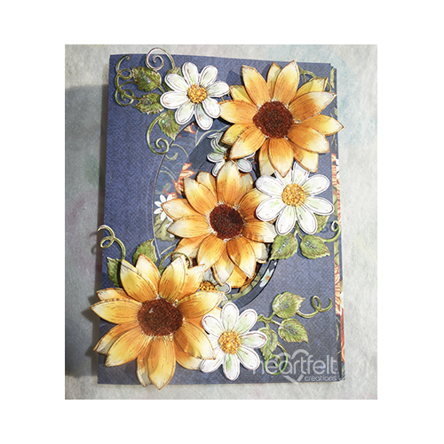 Sunflowers And Daisies Ovals