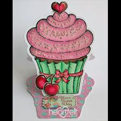 Sweet Easel Cupcake