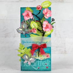 Sweet Magnolia Butterflies