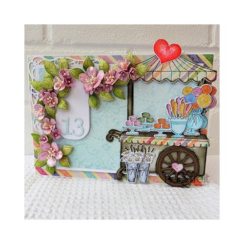 Sweet Blossom Cart