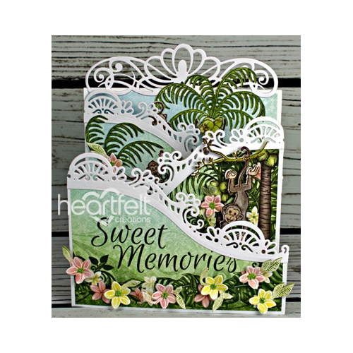 Sweet Monkey Memories Foldout