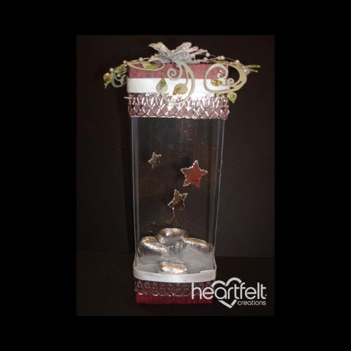 Tall Poinsettia Gift Box