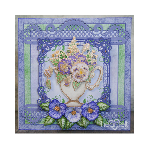 Teacup Full of Pansies