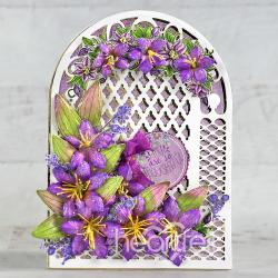 Thoughtful Teardrop Floral