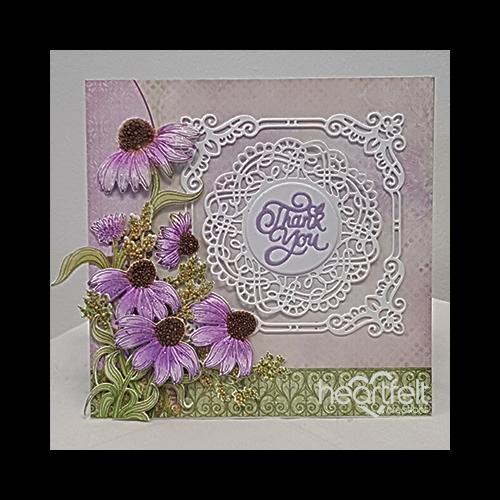 Thankful Purple Blossoms