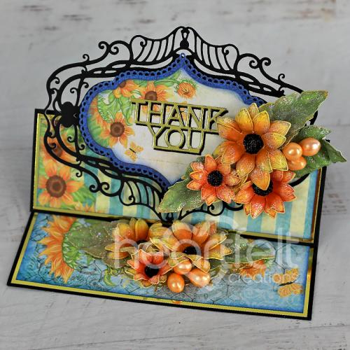 Thankful Sunflower Easel