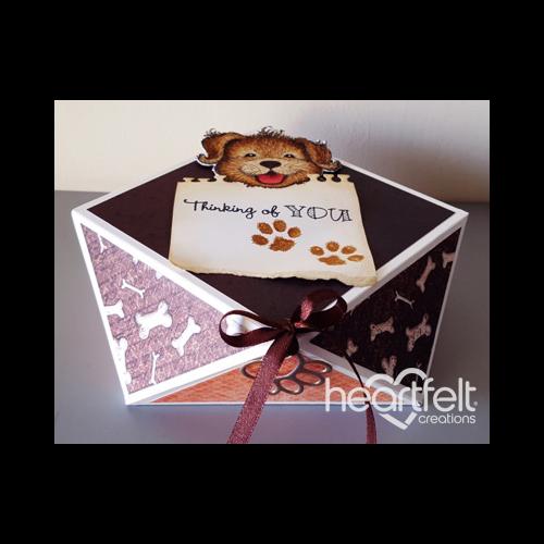 Thinking Of You Pawprint Gift Box