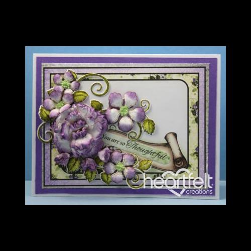 Thoughtful Lavender Rose Spray