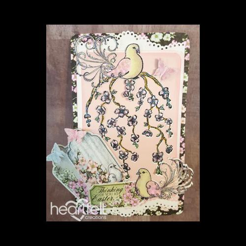 Trailing Dogwood Easter Card