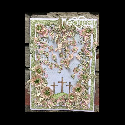 Trailing Dogwood Flowers Card