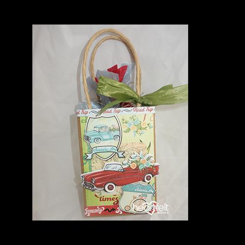 Travel Tags Gift Bag