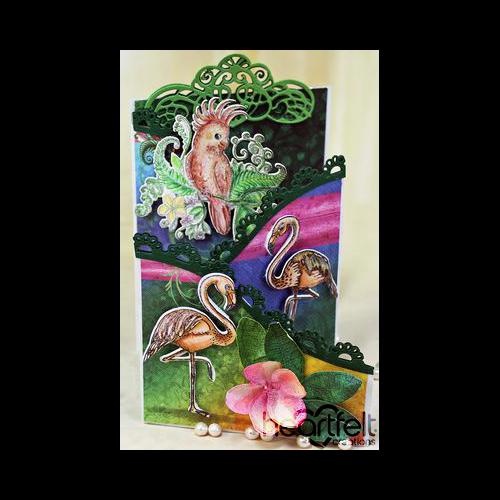 Tropical Foldout Card