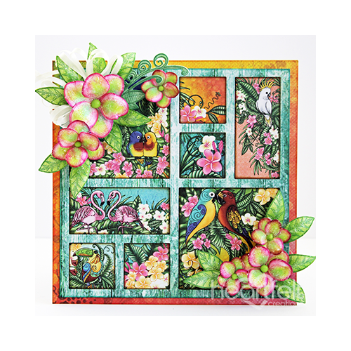 Tropical Frame Card
