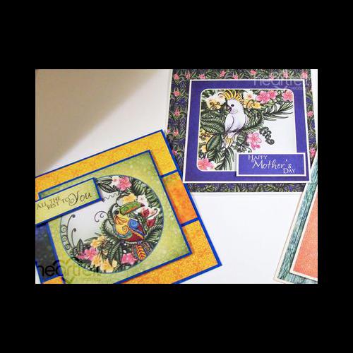 Tropical Trio Card Set