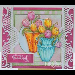 Tulip Time Vases
