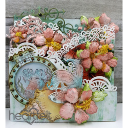 Under The Sea Curved Foldout Card