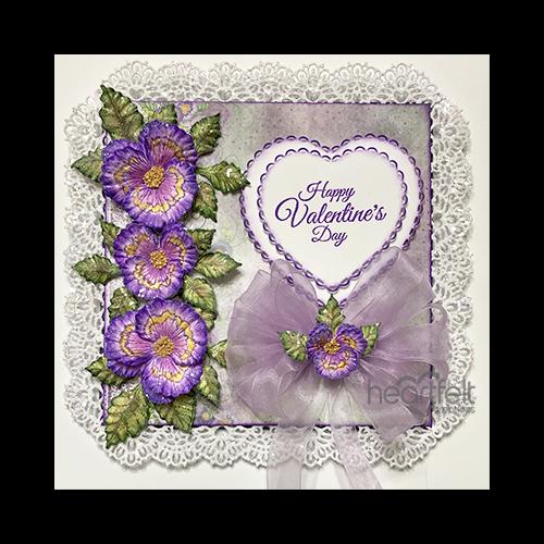 Valentine Pansies