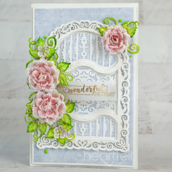 Vellum Rose Flourish