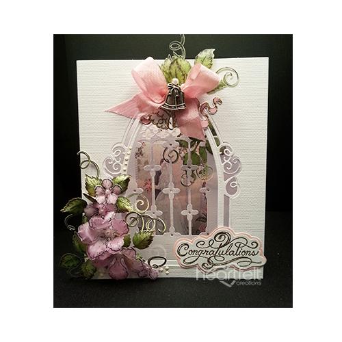 Vellum Rose Diorama