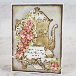Vintage Beauty Teapot