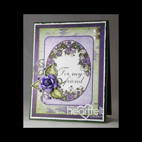Violet Friendship Rose