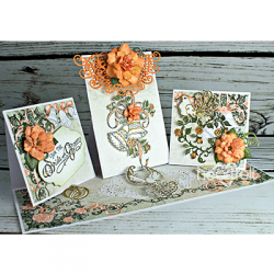 Wedding Triple Easel Card