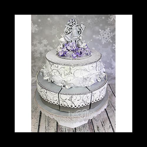 Wedding Cake Treat Box