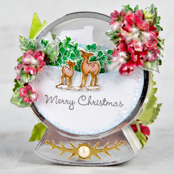 Winter Scenic Snowglobe