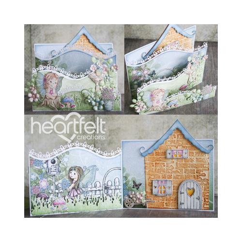 Wildwood Cottage Foldout Card