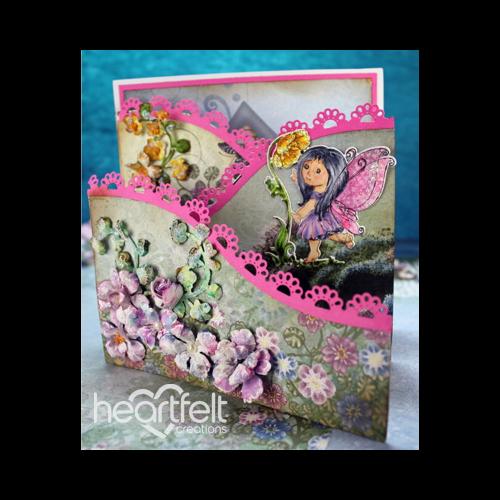Wildwood Pink Floral Foldout