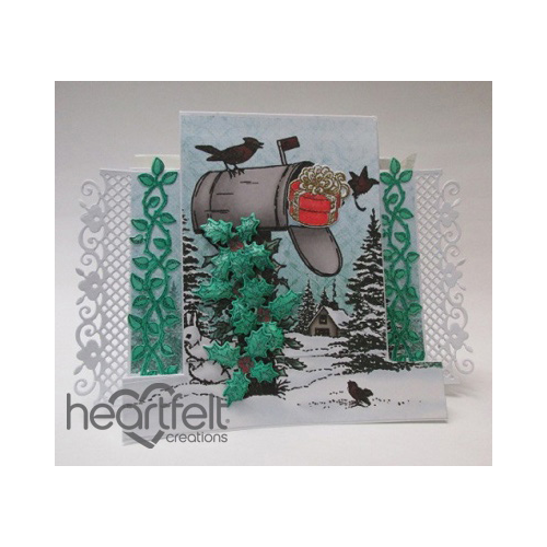 Winter Mailbox Step Card