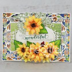 Wonderful Birthday Sunflowers