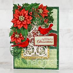 Wonderful Christmas Cardinals