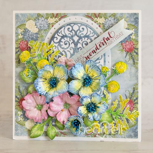 Wonderful Floral Shoppe Birthday