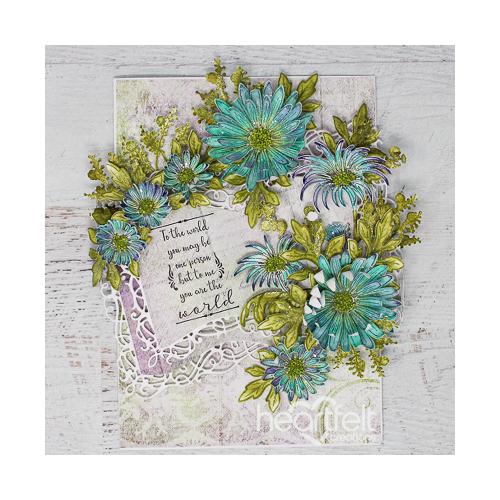 Worldly Floral Booklet