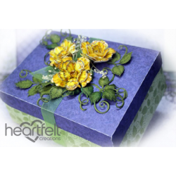 Yellow Classic Rose Gift Box