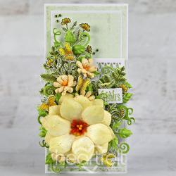 Yellow Floral Slimline