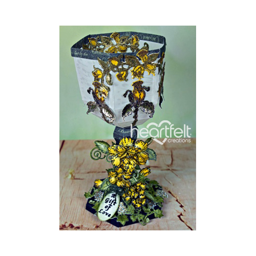 Yellow Rose Medieval Chalice