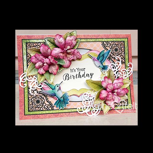 Your Birthday Hummingbirds