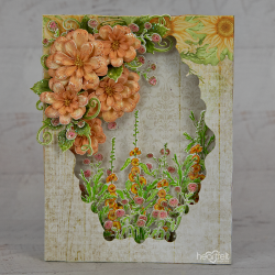 Zinnia Shadowbox