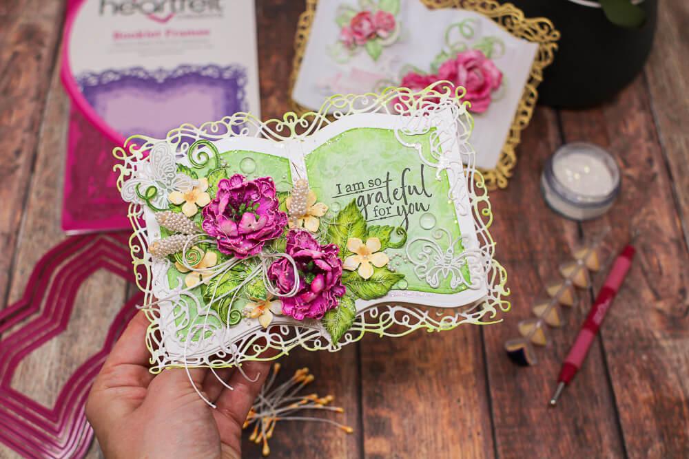 Booklet Frame Shaped Card