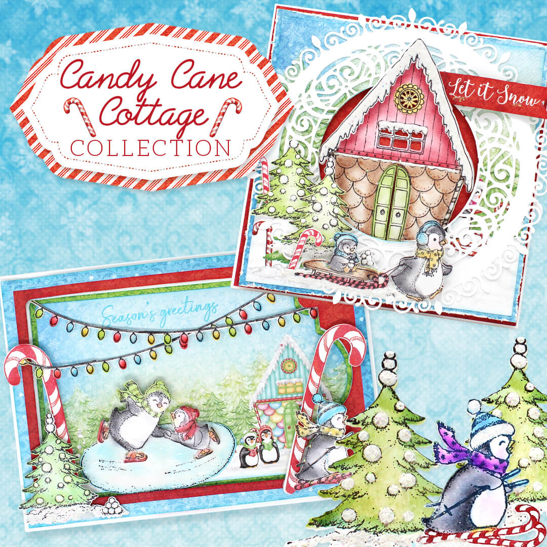 Candy Cane Cottage Collection