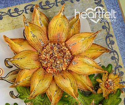 Bursting Sunflower Best Wishes