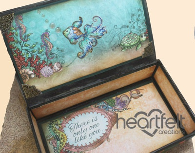 Under The Sea Shaker Memory Box