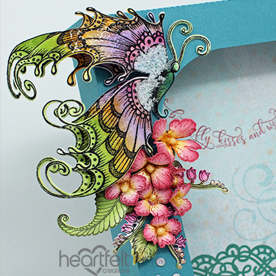 Heartfelt Creations Spellbinders Die ~ FLUTTERING BUTTERFLY ~ HCD1-7178