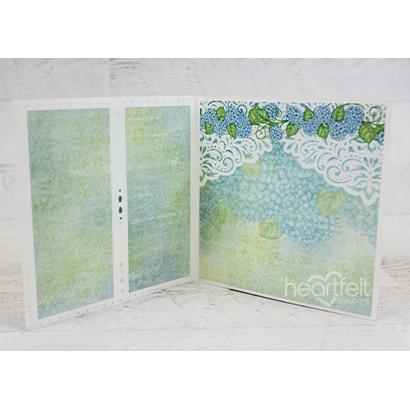 Framed Shutter Fold Card -Rosa Kelly_2A