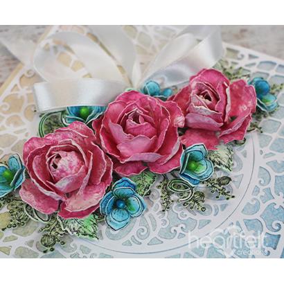 Roses & Hydrangea Elegance - Bozena Bodynek_1A